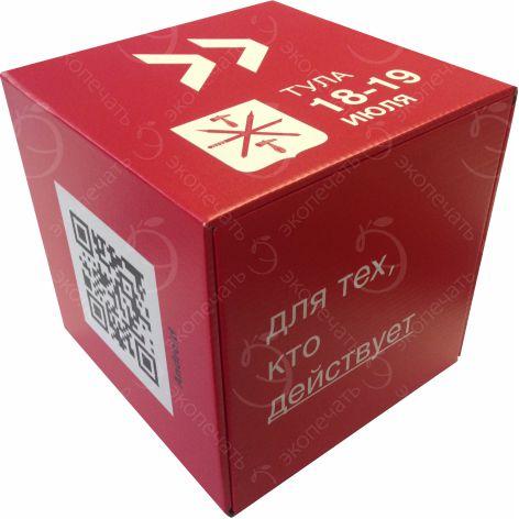 короб из картона складной