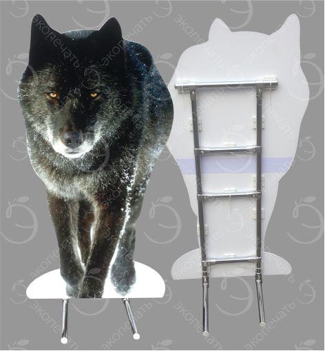 ростовая фигура волк