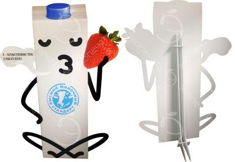 ростовая фигура Пакет молока