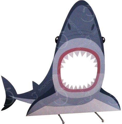 ростовая фигура-тантамареска в виде Акулы